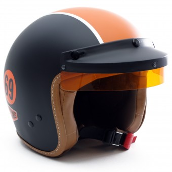 Casque Open Face Gulf Gulf Black
