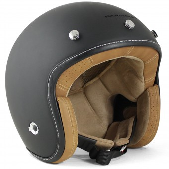 Casque Open Face HARISSON Hellcat Matt Black