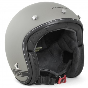Casque Open Face HARISSON Hellcat R Serie Grey Matt Black