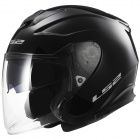 Casque Open Face LS2 Infinity Black OF521