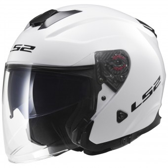 Casque Open Face LS2 Infinity White OF521