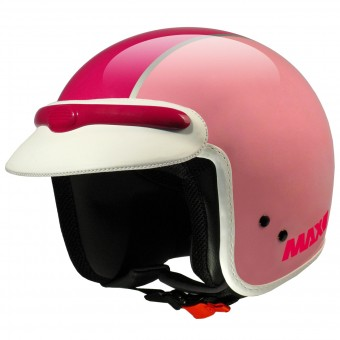Casque Open Face MAX JJ Peak Pink Fushia