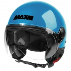 Casque Open Face MAX Power Design Turquoise