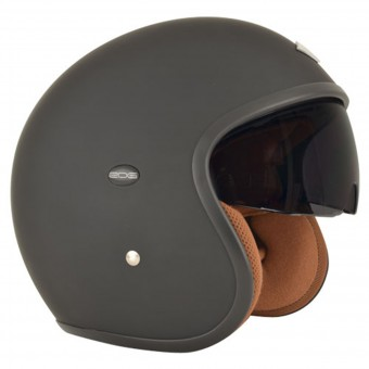 Casque Open Face Edguard Speed Ed Matt Black