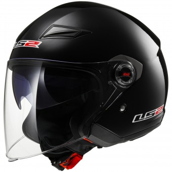 Casque Open Face LS2 Track Black OF569