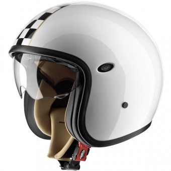 Casque Open Face Premier Vintage CK White