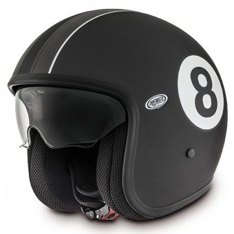 Casque Open Face Premier Vintage Eight 9bm Matt Black