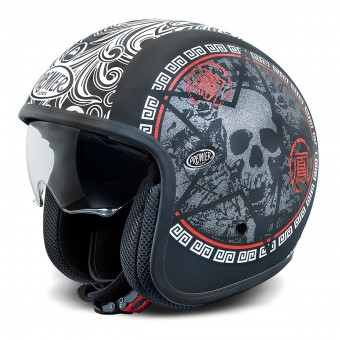 Casque Open Face Premier Vintage Matt Black SK9BM