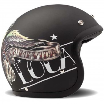 Casque Open Face Dmd Vintage Vida Loca