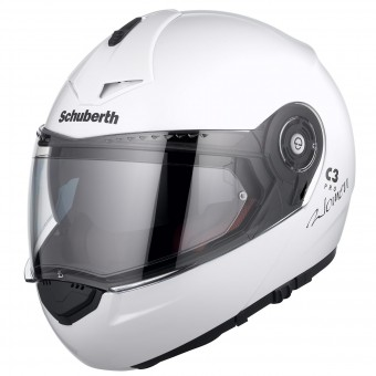 Casque Flip Up Schuberth C3 Pro Lady White