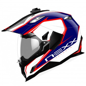 Casque Full Face Nexx X.D1 Voyager White Blue