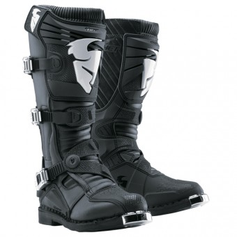 Motocross Boots Thor Ratchet Black