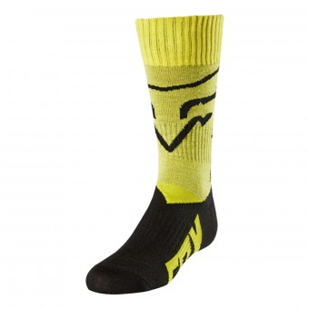 Motocross Shoes FOX Youth MX Kid Yellow 005