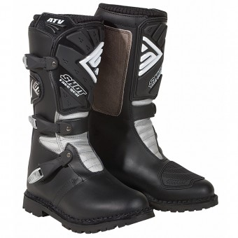 Motocross Boots SHOT ATV Quad Black Boots