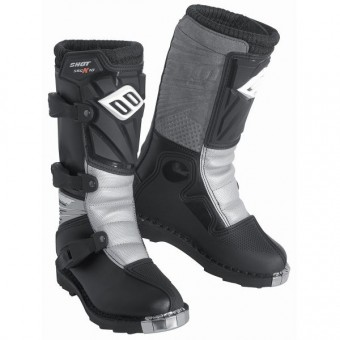 Motocross Boots SHOT K10 Kid Black
