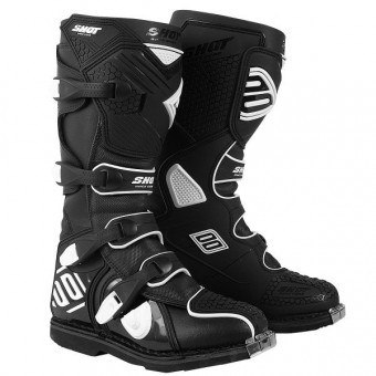 Motocross Boots SHOT X10 Black