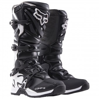 Motocross Boots FOX Comp 5 Black (001)