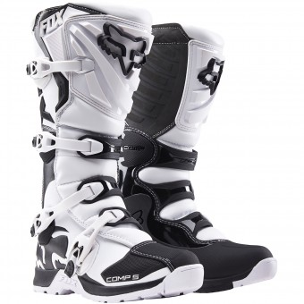 Motocross Boots FOX Comp 5 White (008)
