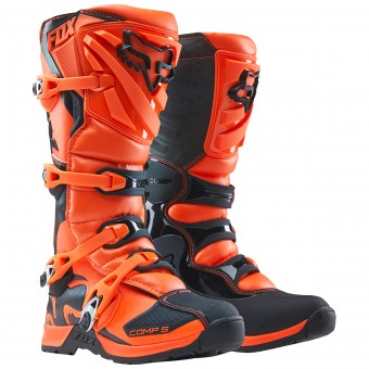 Motocross Boots FOX Comp 5Y Orange Child 009