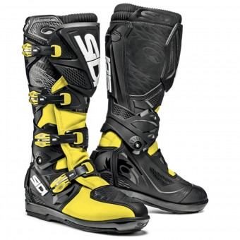 Motocross Boots SIDI Crossfire 2 SRS Yellow Fluo