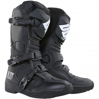 Motocross Boots SHOT K11 Black Kid