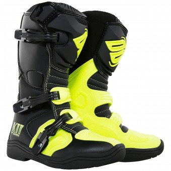 Motocross Boots SHOT K11 Neon Yellow Kid