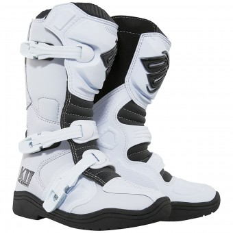 Motocross Boots SHOT K11 White Kid