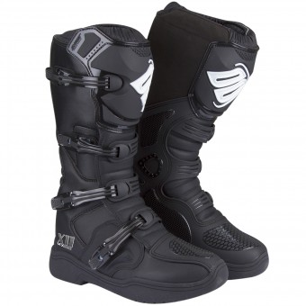 Motocross Boots SHOT X11 Black
