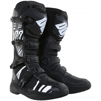 Motocross Boots SHOT X11 Motif Black