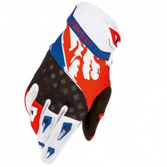 Motocross Gloves Freegun Contact US Blue Red