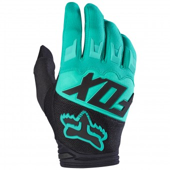 Motocross Gloves FOX Dirtpaw Race Green 004