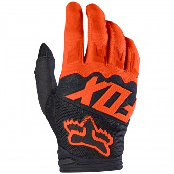 Motocross Gloves FOX Dirtpaw Race Orange 009
