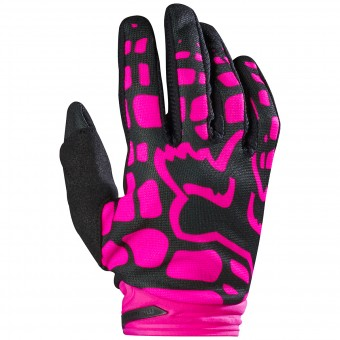 Motocross Gloves FOX Dirtpaw Woman Black Pink 285