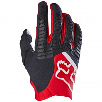 Motocross Gloves FOX Pawtector Red (003)