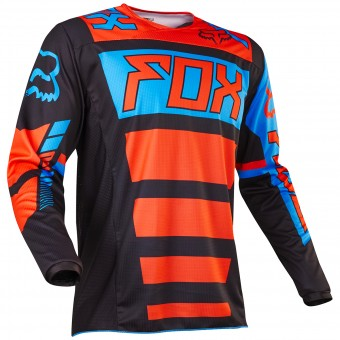 Motocross Jerseys FOX 180 Falcon Black Orange Child 016