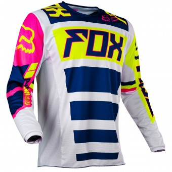 Motocross Jerseys FOX 180 Falcon Navy White 045