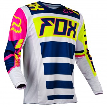 Motocross Jerseys FOX 180 Falcon Navy White Child 045