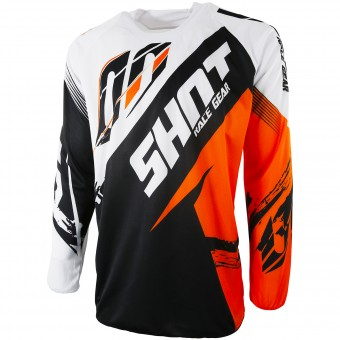 Motocross Jerseys SHOT Contact Fast Orange