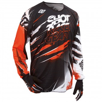 Motocross Jerseys SHOT Devo Capture Orange Kid