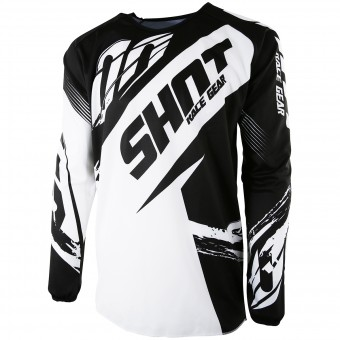 Motocross Jerseys SHOT Devo Fast Black Kid