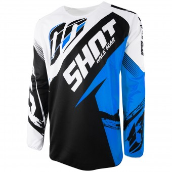 Motocross Jerseys SHOT Devo Fast Blue Kid