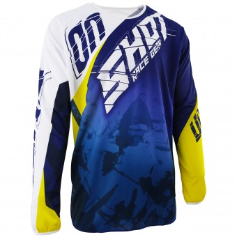 Motocross Jerseys SHOT Devo Squad Blue Yellow