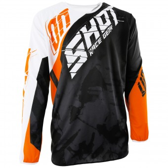 Motocross Jerseys SHOT Devo Squad Orange