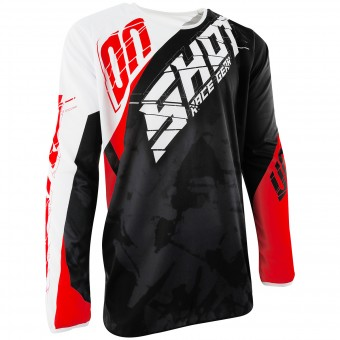 Motocross Jerseys SHOT Devo Squad Red