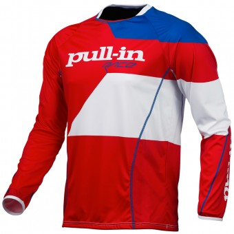 Motocross Jerseys pull-in Fighter Blue White Red