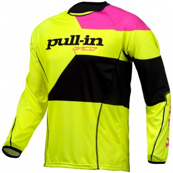 Motocross Jerseys pull-in Fighter Neon Yellow Pink
