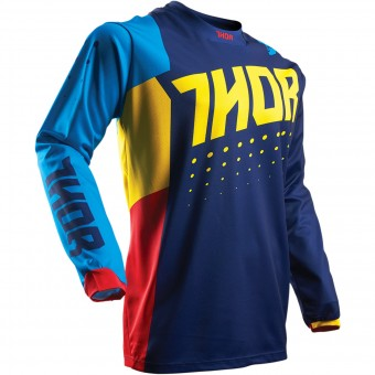 Motocross Jerseys Thor Pulse Aktiv Multi Kid