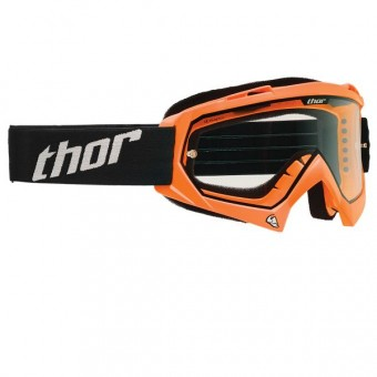 Motocross Goggles Thor Enemy Fluorescent Orange