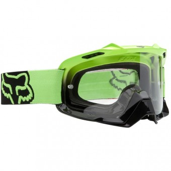Motocross Goggles FOX Solid Day Glow Green