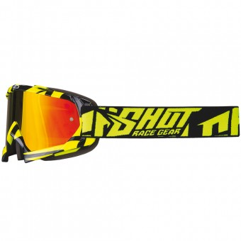 Motocross Goggles SHOT Volt Neon Yellow